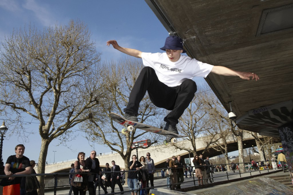 Southbank Skateboarders3