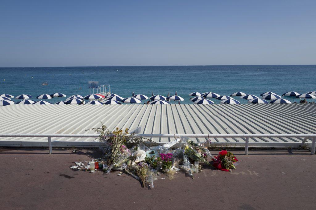 Nice Promenade after the terrorist attack